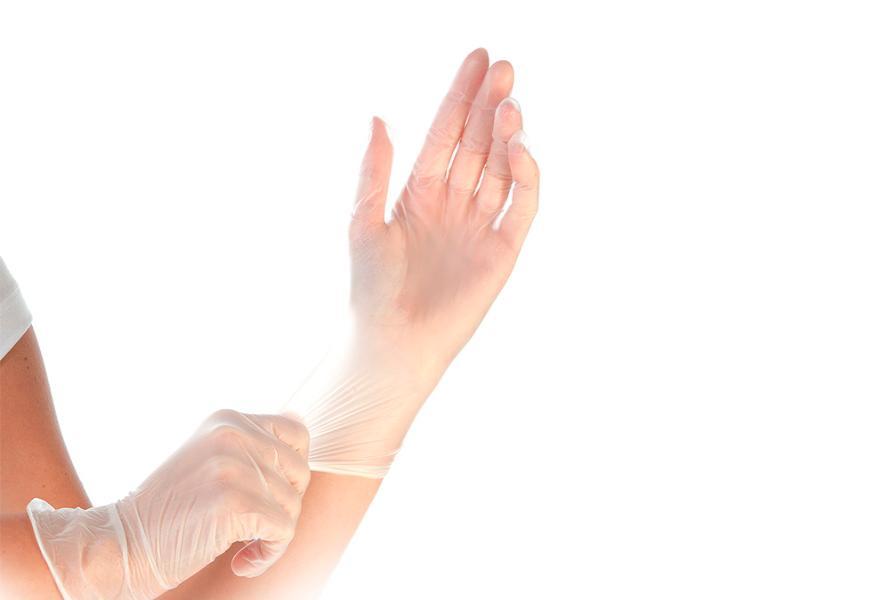 Виниловые перчатки – гипоаллергенная защита медика!