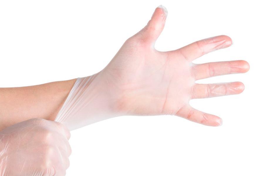 Сфера использования виниловых перчаток